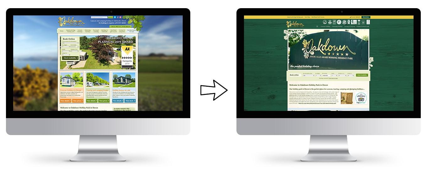 Oakdown-Website-Design-New-Old