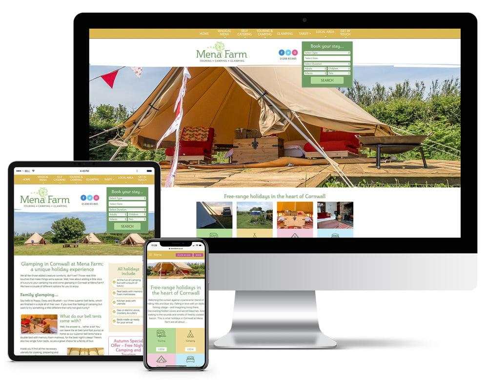 Mena Farm Responsive Website Design