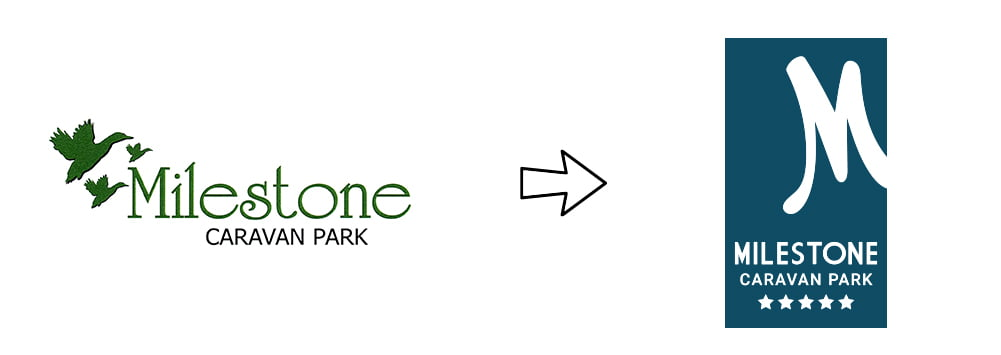 Milestone-Logo-Evolution