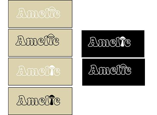 Amelie personal logo