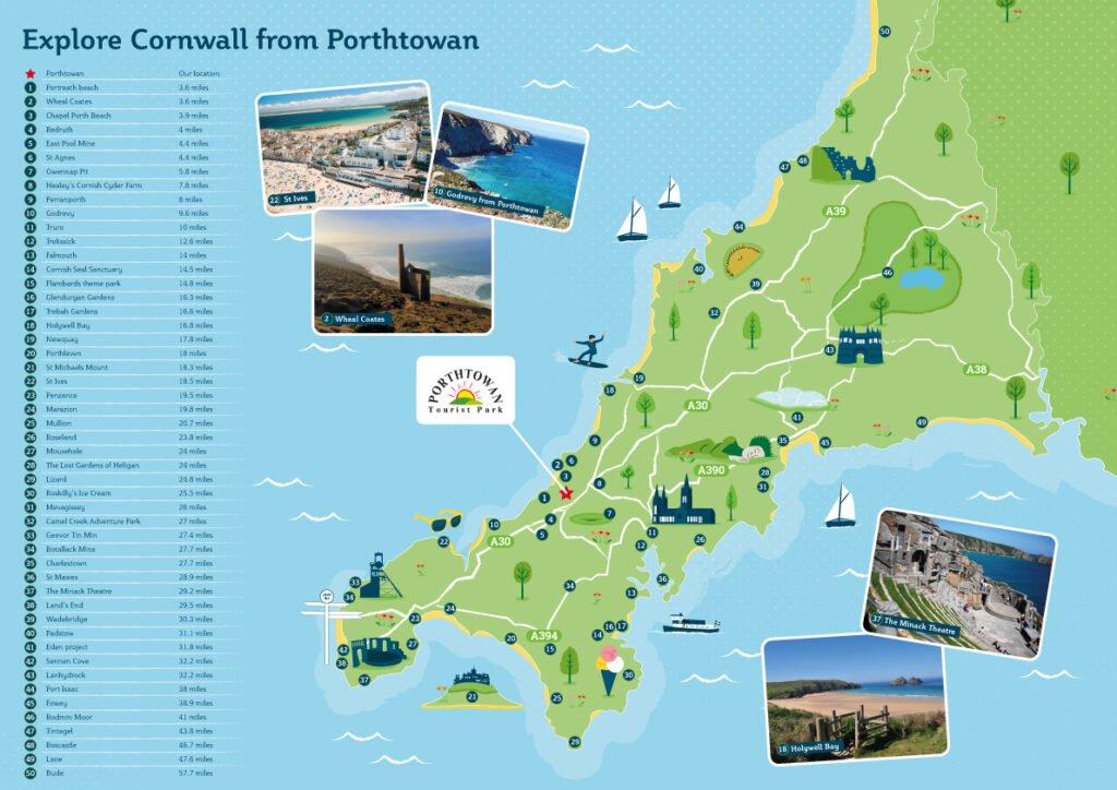 Porthtowan-Cornwall-Map-Locations