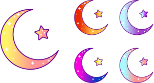 Moon icon logo design for YouTuber WhiskeyChic