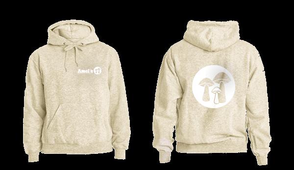 logo on hoodie mock-up